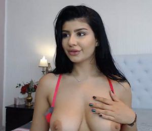 Hairy brunette big pussy tits
